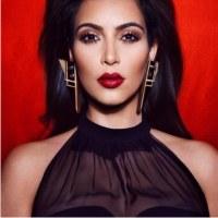 Ким Кардашян, женщина вамп, Фото знаменитостей