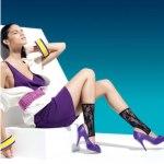 мода, стиль, чулки, носки, весна 2010