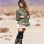 мода, стиль милитару, весна 2010