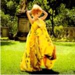 мода, цветочный принт