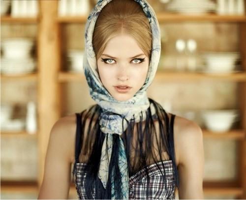 головные уборы, платок