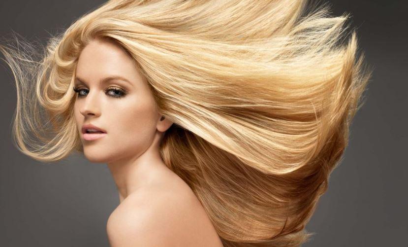 желтизна, волосы