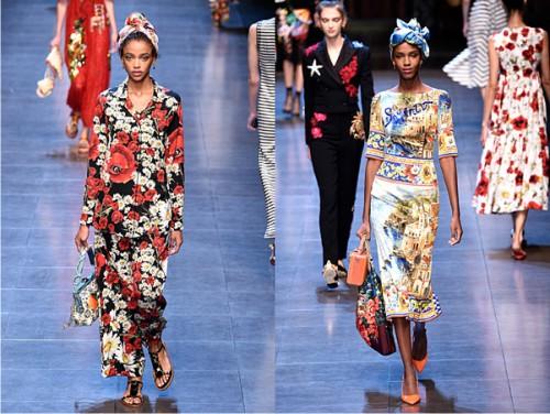неделя моды в Милане, Dolce & Gabbana весна-лето 2016