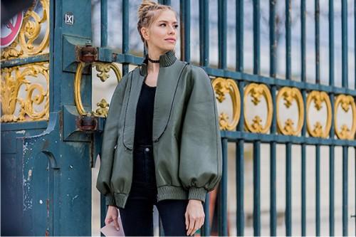 неделя моды в Париже, street style
