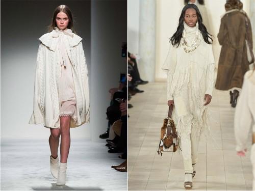 модные наряды зимы