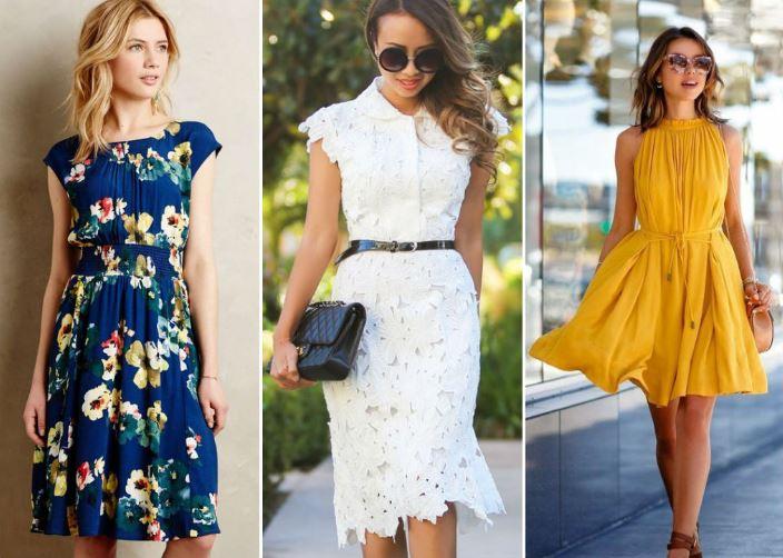 летние платья 2018