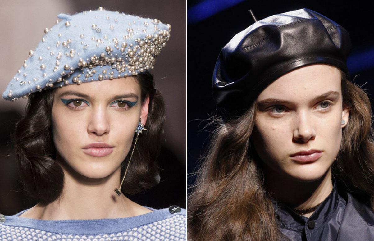 шапки, головные уборы, осень-зима 2018-2019