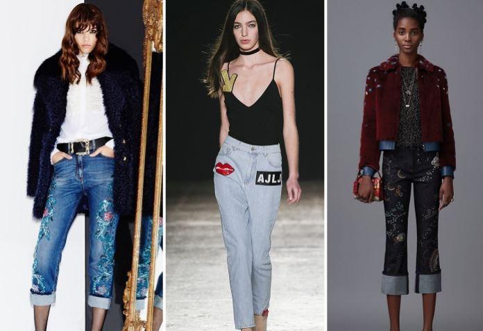 джинсы осень-зима 2018-2019