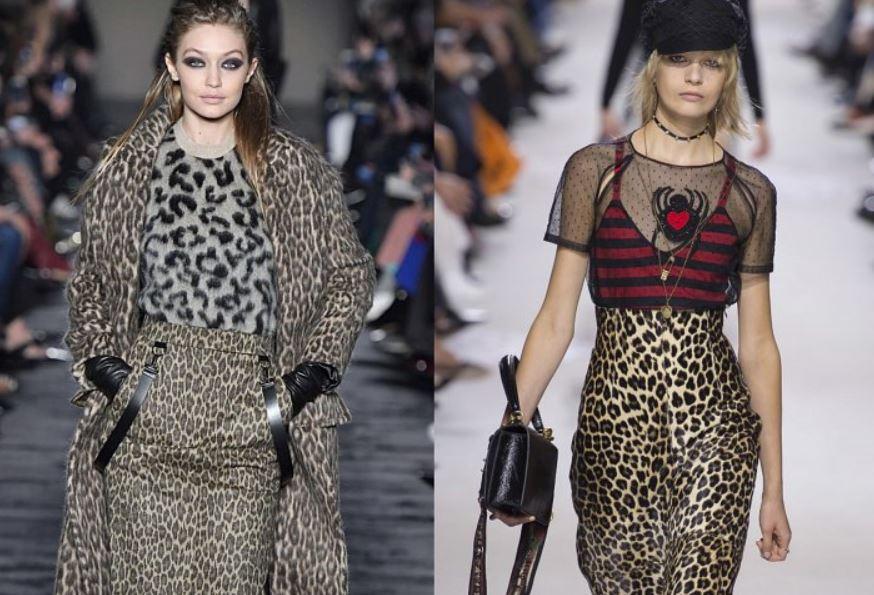 леопардовый принт, мода