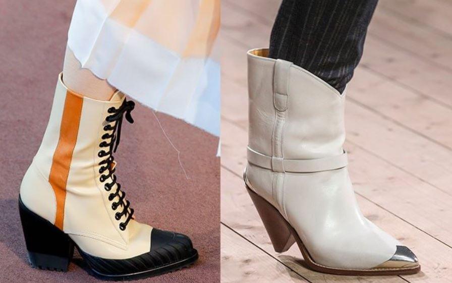 обувь осень-зима 2018-2019