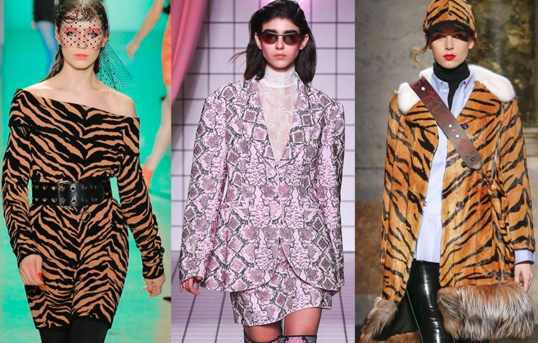 модные принты 2018
