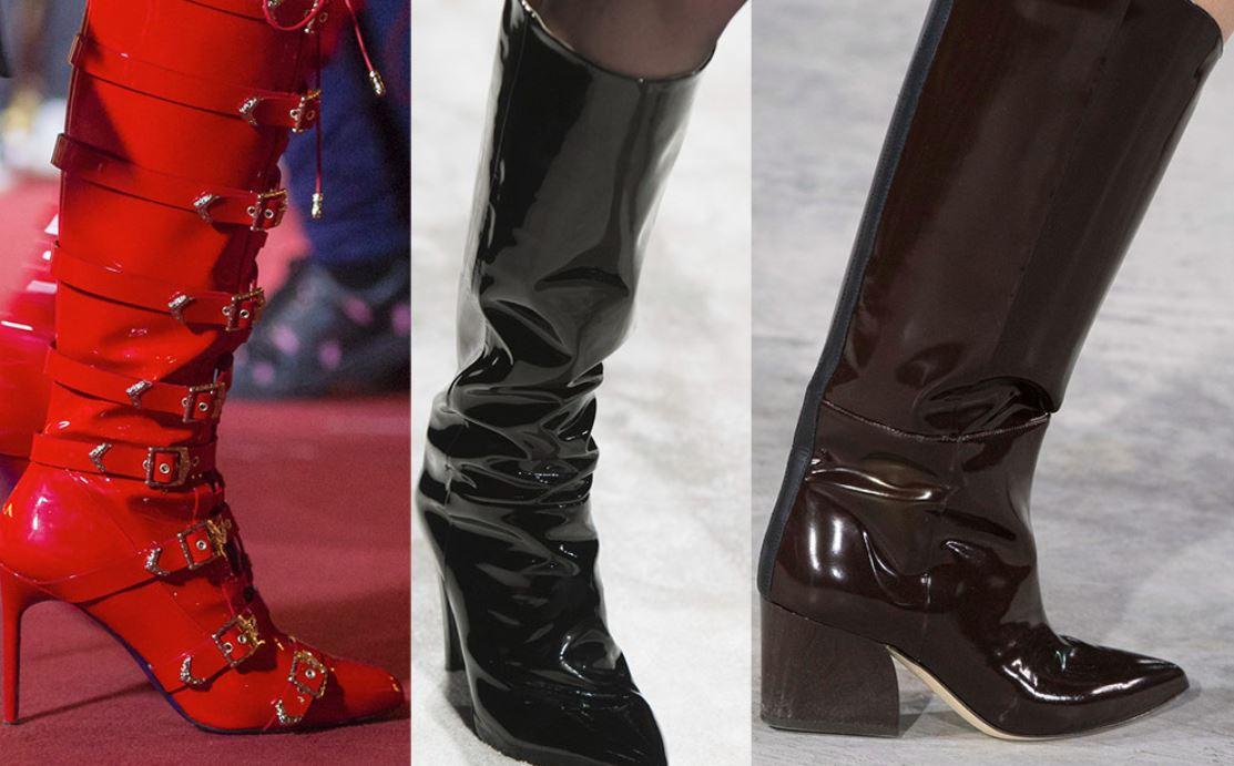 модные сапоги 2018, модные сапоги 2019