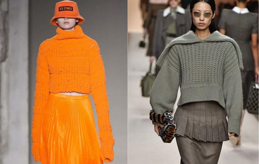 трикотаж 2018/2019, платье, кардиган, свитер