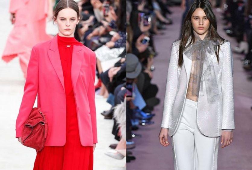 модные жакеты, осень-зима 2018-2019