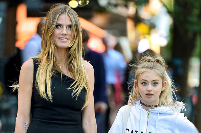 дочь Хайди Клум, модель, внешность