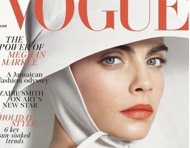 Кара Делевинь, Vogue