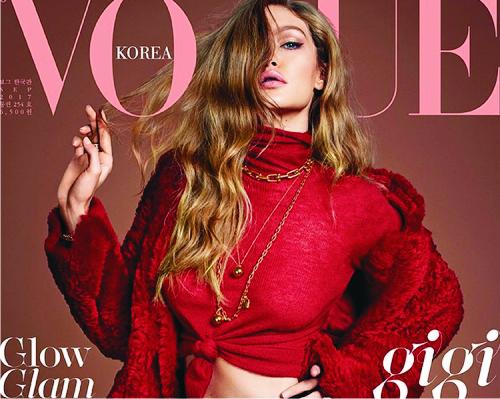 Джиджи Хадид, Vogue