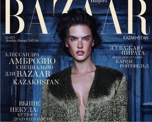 Алессандра Амбросио, Harper's Bazaar
