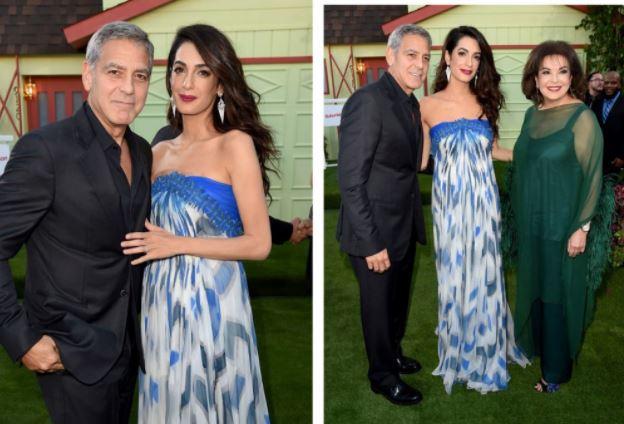 Амаль Клуни, платье