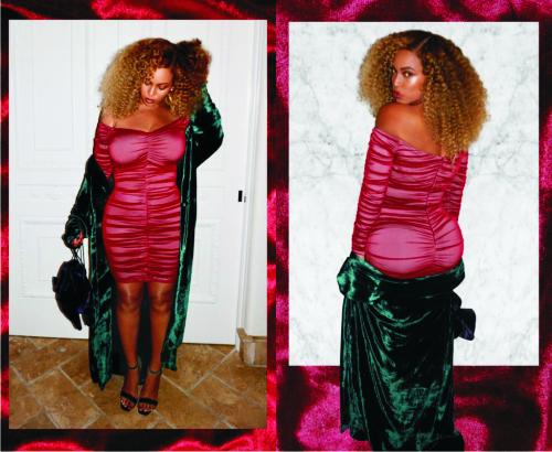 Бейонсе, мини-платье