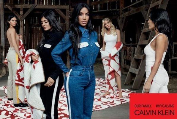 Сестры Кардашьян, Calvin Klein