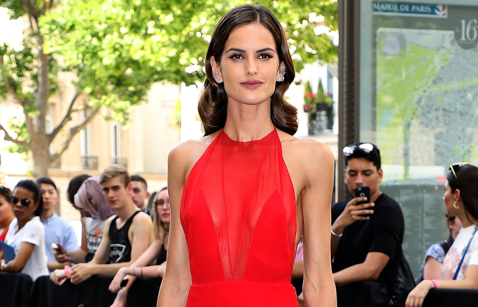 Изабель Гулар, платье