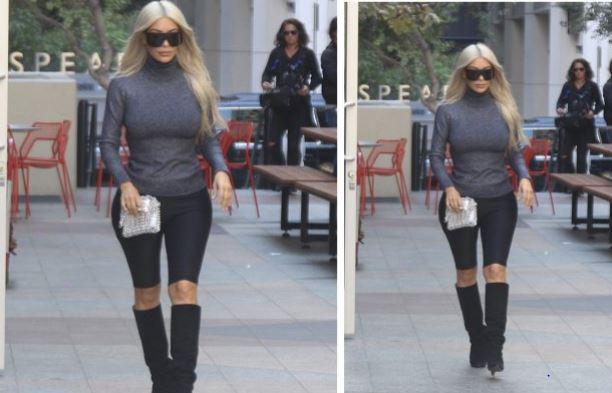 Ким Кардашьян, уличный стиль