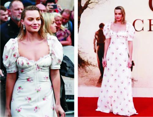 Марго Робби, платье, красная дорожка