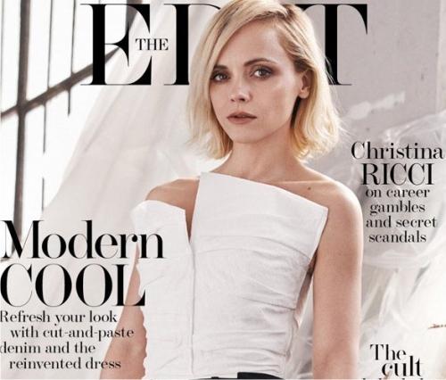 Кристина Риччи, The Edit Magazine