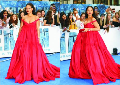 Рианна, платье
