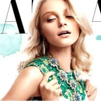 Модель Джессика Стэм, Harper's Bazaar
