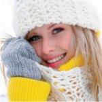 красота, уход за кожей, кожа зимой